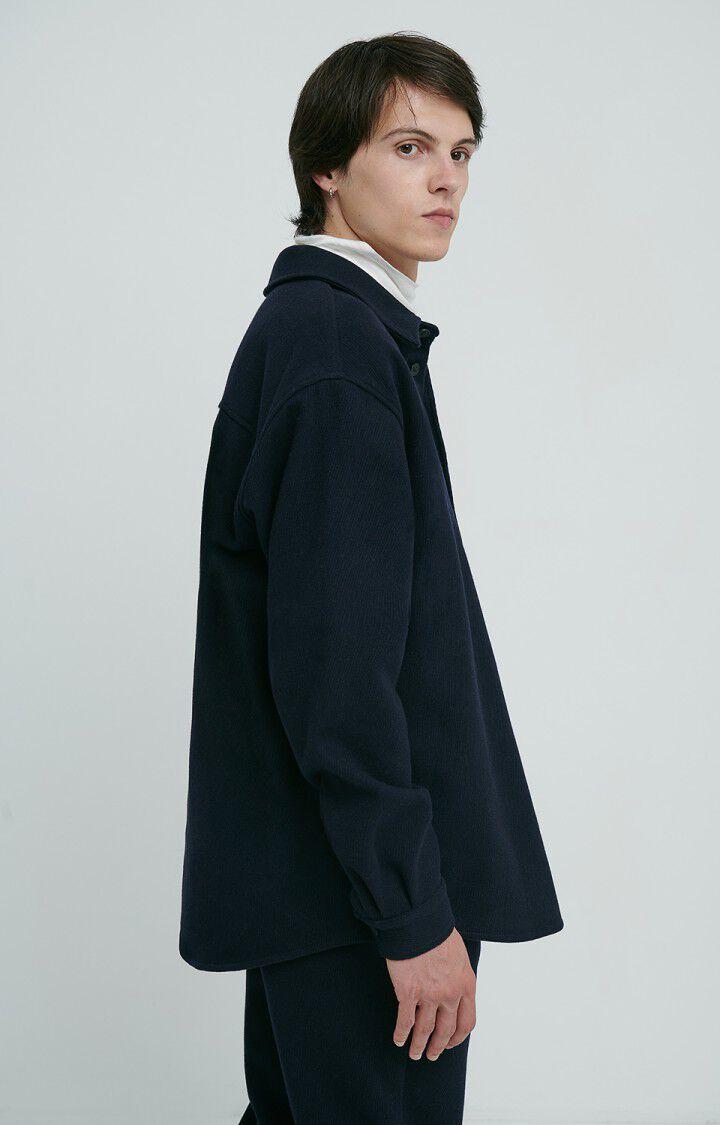 Men's shirt Pylow, NAVY, hi-res-model