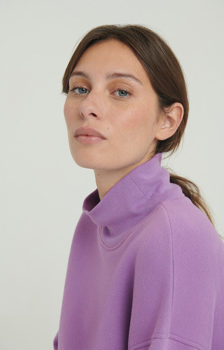 Women's sweatshirt Ikatown, MAUVE, hi-res-model