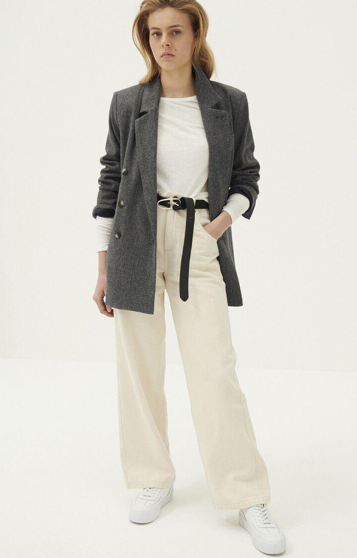 Blazer femme Weftown, GRIS CHINE, hi-res-model