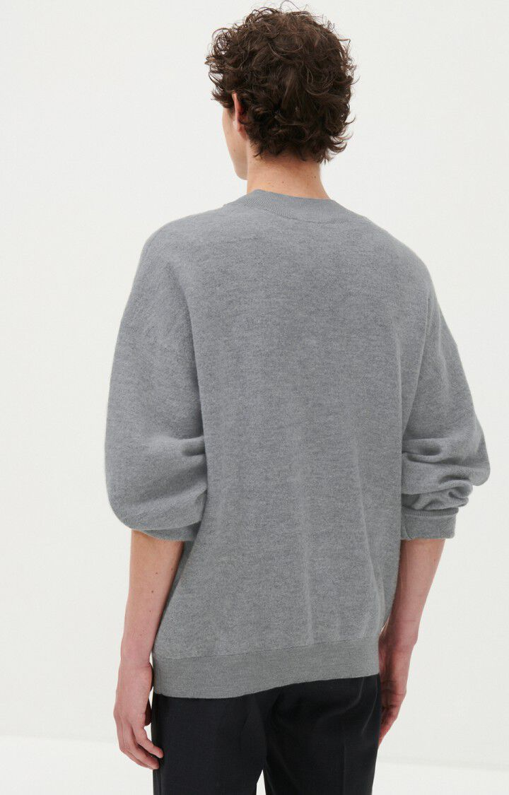 Men's jumper Tadbow, HEATHER GREY, hi-res-model
